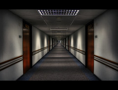 The night corridor . . . (grantthai) Tags: night hospital corridor international inpatient bumrungrad grantthai grantcameron