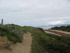 IMG_2888 CCT closed to beach (pease press) Tags: fortfunston coastaltrail