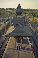 Fishcreek/Lacombe C-Train (stokedonphotos) Tags: calgary train canon kiss track rails ctrain fishcreek xti 400d lacome
