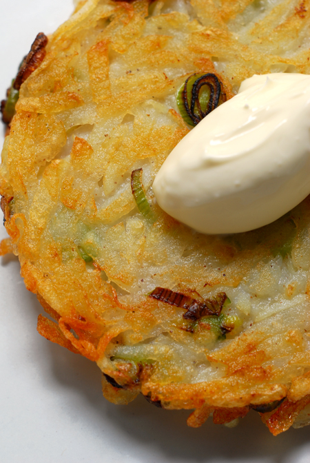 Potato Rösti with Horseradish©