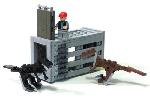 Лего как сделать динозавра