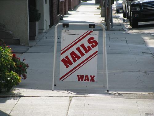 nails and wax