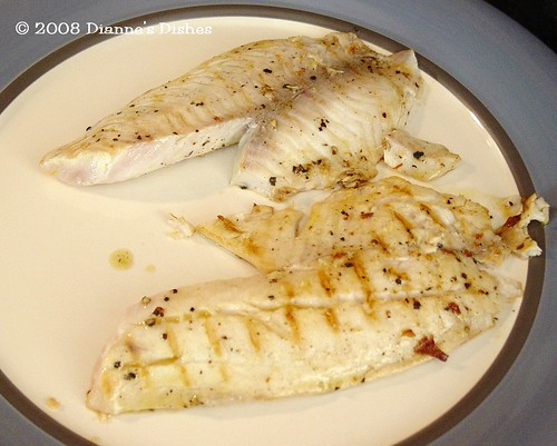 Pan Grilled Lemon Pepper Tilapia with Avocado Salsa: Grilled Tilapia