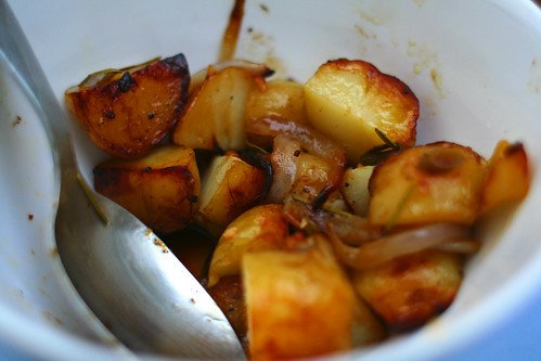 Foil-roasted bbq potatoes