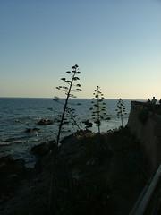 Alghero, tramonto sui Bastioni