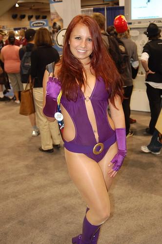 comic con 2008: Starfire