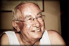 (Roberta Facchini) Tags: portrait smile face sepia expression grandfather grandpa nonno roberta fano facchini ruobby robertafacchini wwwrobertafacchinicom