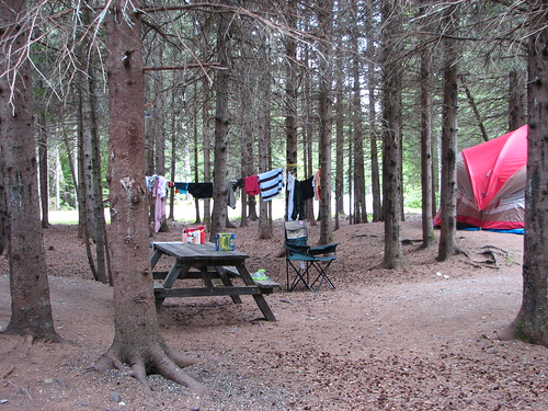 Campsite - Campbellton July 2008