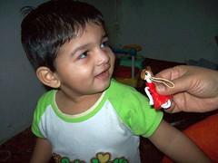 Dolls for girls Silly ([ RAFIQ ]) Tags: portrait cute beautiful handsome smug smirk abdullah
