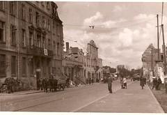 Street scene (Dan Brekke) Tags: kassel germany worldwarii wwii bombing bombdamage
