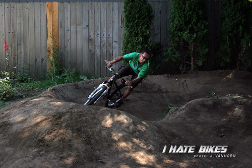 Izaak Van Horn at Pattys pump track in PDX
