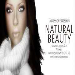 Natural Beauty Ad Graphic by Miabella Foxley