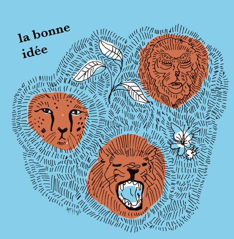 LA BONNE IDEE blue