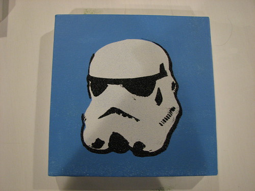 star wars stencil - stormtrooper