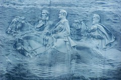 Confederate Memorial Carving, Stone Mountain, Georgia (J. Stephen Conn) Tags: park georgia memorial carving confederate stonemountain jeffersondavis stonewalljackson robertelee warbetweenthestates abigfave