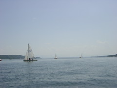 Sailing on Lake Starnberg