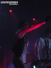 Kill Hannah: 8.23.08 5 (monique k.) Tags: chicago metro liveband dramaticlighting liveshow themetro metrochicago stagelights killhannah sonydscw5 matdevine gregcorner