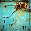 another rusted turquise (Katerina.) Tags: brown abstract metal rust urbandecay rusty vivid surface chain turquise twocolors bluebrown 500x500 doordetail haphazart haphazartblue colourartaward artlegacy haphazartoffsymmetry haphazartmetal haphazartoutofdate haphazartsquare