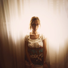 (Ana Cuba) Tags: light love luz cortina window ventana glasses dress folk explore nostalgia melancholy bububob
