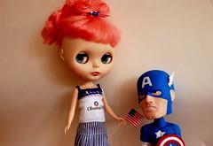 Captain America in love