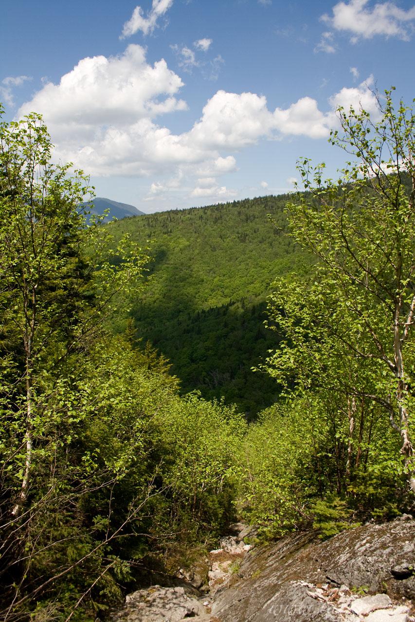North Slide, North Tripyramid Peak, Sandwich Range, White Mountains, New Hampshire, June 2008