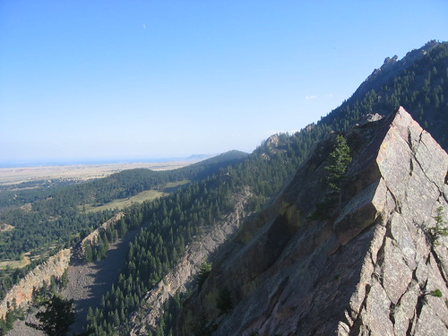 View Looking South from Summit of Swanson's Arete