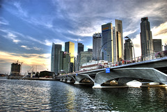 Global City. (gyverchangphotos) Tags: new city skyline singapore asia downtown cityscape place 2008 soe hdr futuristic global raffles mywinners abigfave specialtouch theunforgettablepictures colourartaward platinumheartaward betterthangood guasdivinas