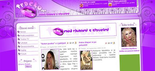 Tracko.net screenshot