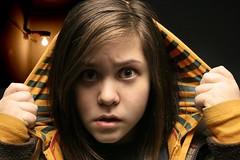 paranoid girl