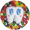 Toofhairy's Candy Bath! (Spok-spok) Tags: urban newyork cute smile fun toy happy design cool soft sweet designer treats swedish plush softie snack cuddly kawaii plushie giggling spok designertoy designerplush spoks spokspok toofhairy