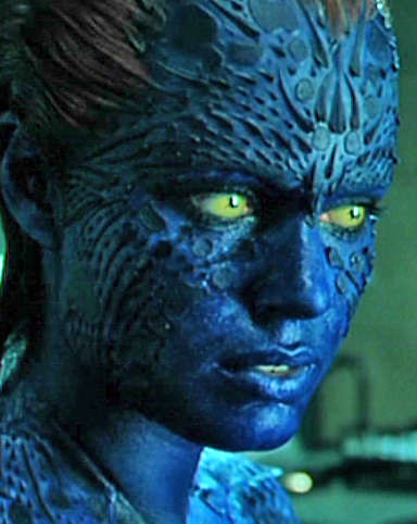 Rebecca Romijn in Mystique for X-Men