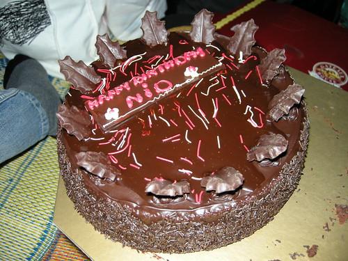เค้กที่แบกไปโดยไม่ให้เจ้าของวันเกิดรู้