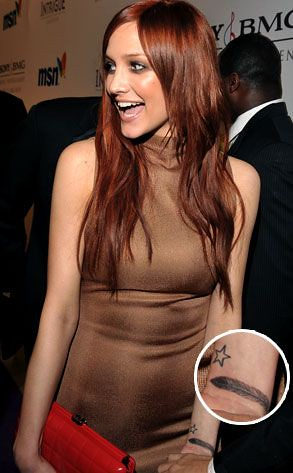 Ashlee Simpson wrist tattoo by wrist.tattoo. More at www.wrist-tattoo.com!
