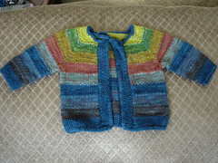 Brogan's tulip sweater - natural light