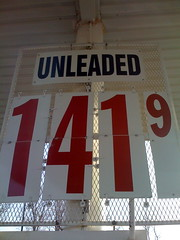 Gas $1.41 per gallon: Afternoon of Dec 6, 2008