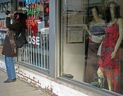 trio - 11/29/08 (Valerie Peters) Tags: street chicago kirstie manekins macromonday