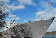 USS Freedom docked in Annapolis 076524