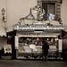 Marino, vicino Roma: dettagli di tempi freddi