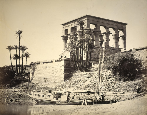 Hypaethral Temple Philae Francis Frith 1857