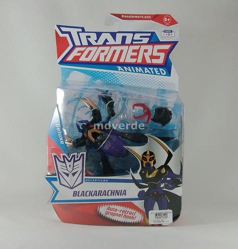 Transformers Blackarachnia Animated Deluxe - caja (by mdverde)