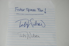 Fisher Space Pen Test