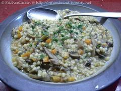 Two Mushroom Barley Soup
