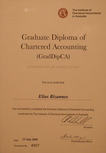 GradDipCA