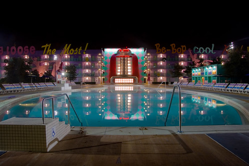 Tranquil Pool at Disney's Pop Century Resort
