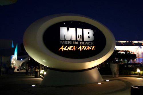 MIB ride at Universal Studios