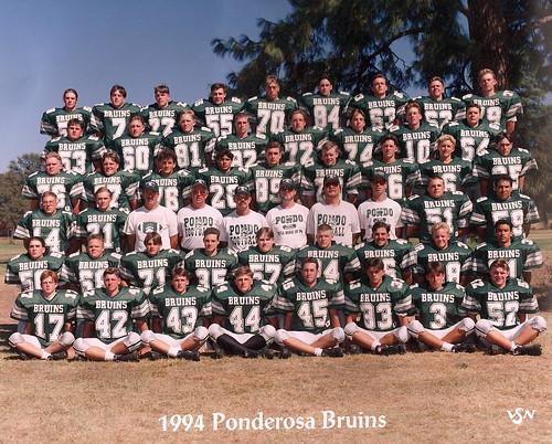 1994PonderosaVarsityFootball