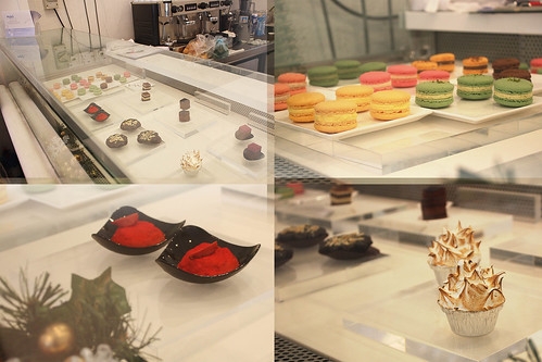 A display of Mykii's petite desserts