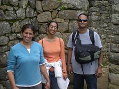 Against an Inca Wall - Machu Picchu