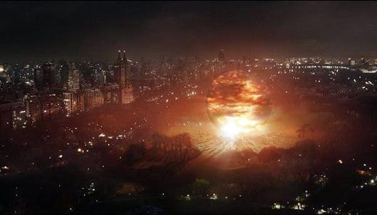 La llegada de los extraterrestres a Nueva York en 'El día que la tierra se detuvo'