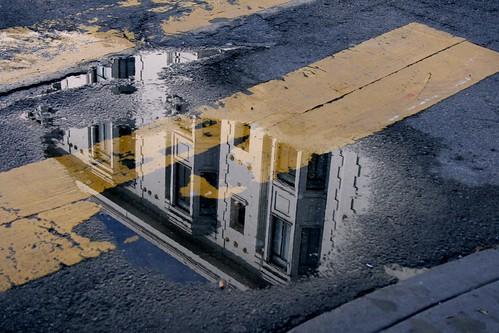 Building in the Rain